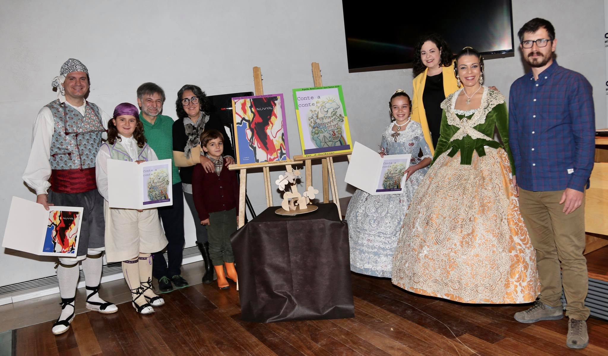 Fotos de la presentació d'esbossos 2019