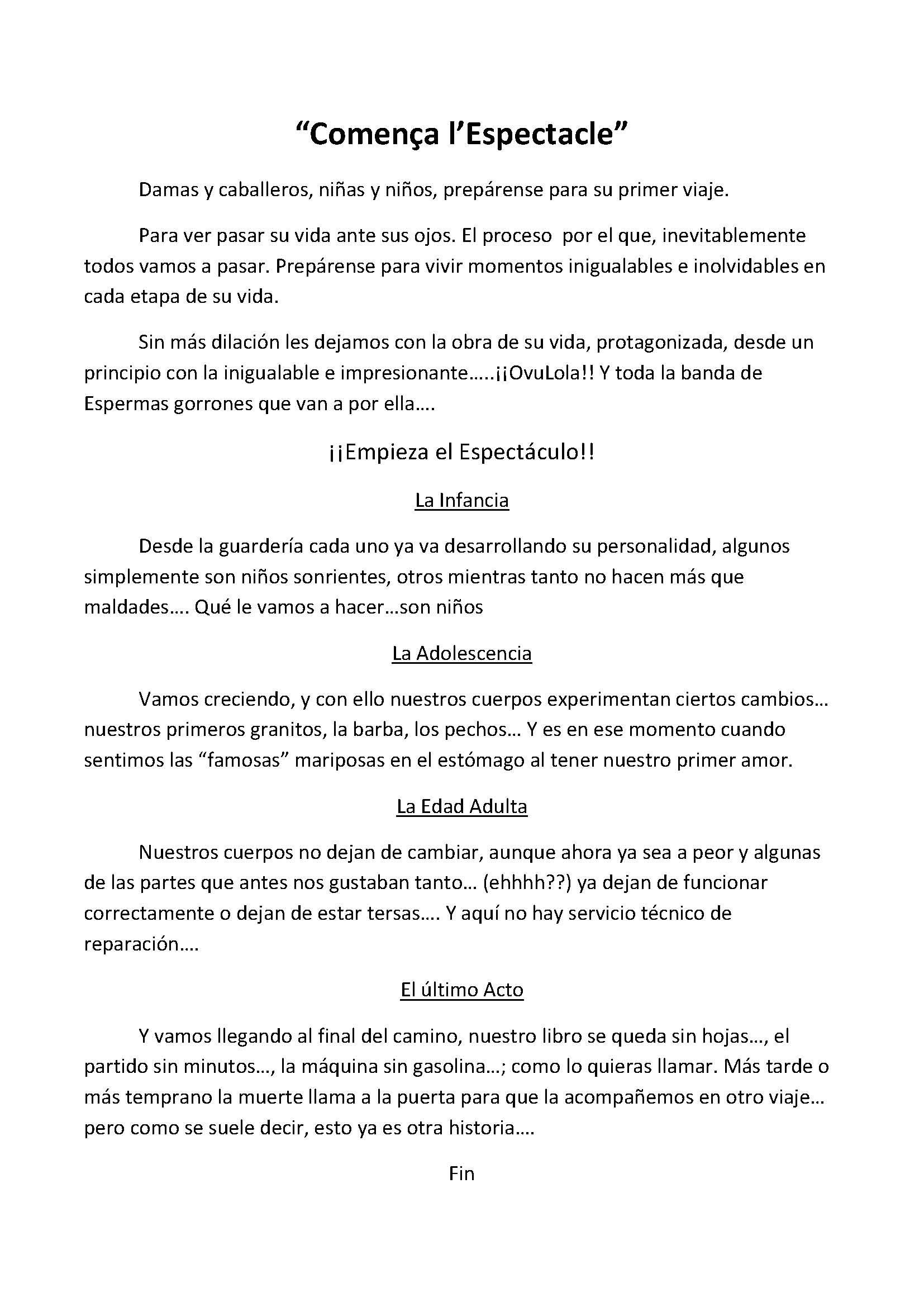 Espectacle (Ripalda-Beneficencia)