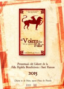 cartel presentacio llibret ribesan 2015